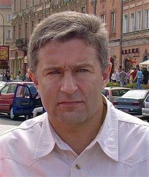 European Parliament election, 2004 (Poland) - Image: Władysław Frasyniuk 2
