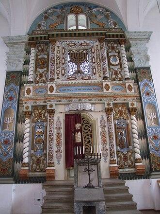 Włodawa Synagogue - Torah Ark