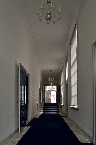 SieboldHuis - Image: WLANL Pachango Hal Sieboldhuis