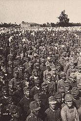 WWI - Battle of Vittorio Veneto - Austro-Hungarian prisoners