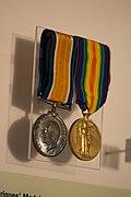 WWI medals of Basil Henriques (39666809955).jpg