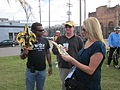 WWOZ 30th Parade Elysian Fields Lineup Fleurs.JPG