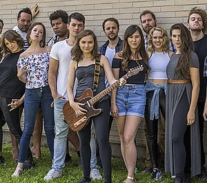 We Will Rock You (musical) - Cast of the North American Regional Theatre Premiere production at Magnus Theatre, Thunder Bay, Ontario