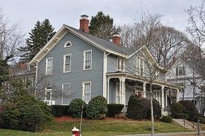 House at 21 Chestnut Street - Image: Wakefield MA 21Chestnut Street