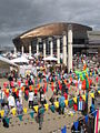 Wales Millennium Centre and Harbour Festival, Cardiff Bay - geograph.org.uk - 2039375.jpg
