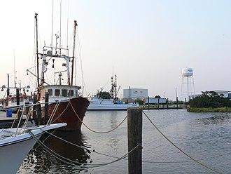 Wanchese, North Carolina - Entrance to Wanchese Harbor