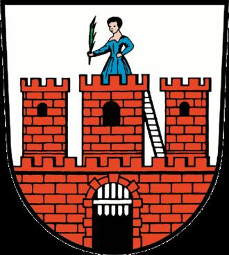 Dahme, Brandenburg - Image: Wappen Dahme (Mark)