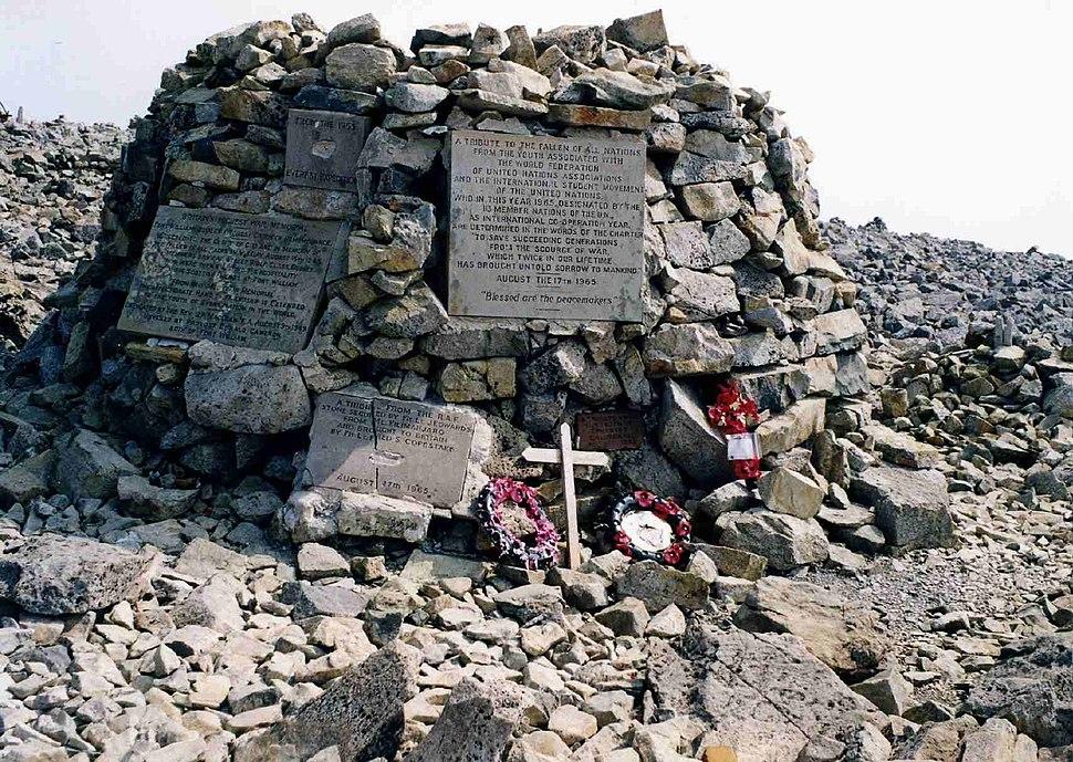 War Memorial, Ben Nevis