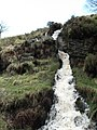 Waterfall, Goytsclough - geograph.org.uk - 1223062.jpg
