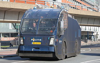 English: Police water cannon vehicle Nederland...