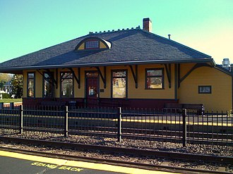 West Concord Depot - Image: Wconcord 9