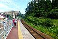 WeSPa-Tsubakiyama Station platform-Aug2012.jpg