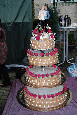 Wedding cake of a same sex marriage