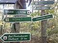 Wegweiser zwischen Kyffhaeuser und Bad Frankenhausen (Rathsfeld 1,7 km).jpg