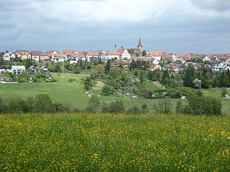 Weil im Schönbuch - View towards Weil im Schönbuch