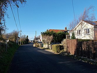 Wellow, Isle of Wight - Main Road, Wellow