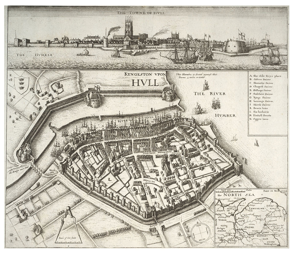 Fortifications Of Kingston Upon Hull Wikipedia