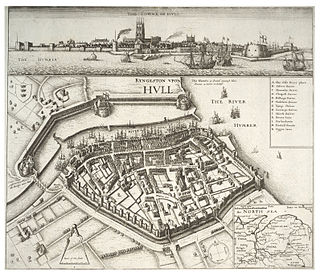 Siege of Hull (1642) first major action of the English Civil War