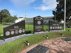 West Columbia, Texas - Image: West Columbia TX War Memorial