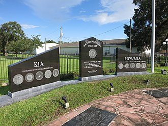 West Columbia, Texas - Image: West Columbia TX War Memorial