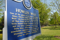 West Point Howlin' Wolf Blues Trail Marker West Point.png