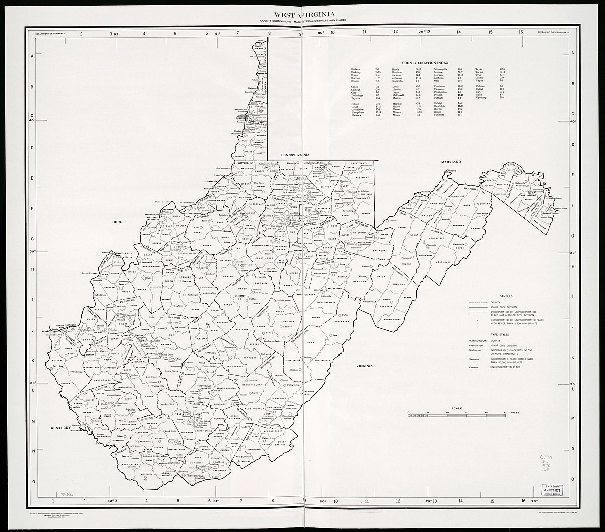 Taxes In Virginia >> List of magisterial districts in West Virginia - Wikipedia