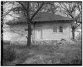 West rear - Shadinger-Leavell House, US 27 and State Route 1, Carrollton, Carroll County, GA HABS GA,23-CAROL.V,3-4.tif
