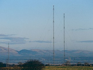 Westerglen transmitting station transmitter station in Falkirk, Scotland, UK