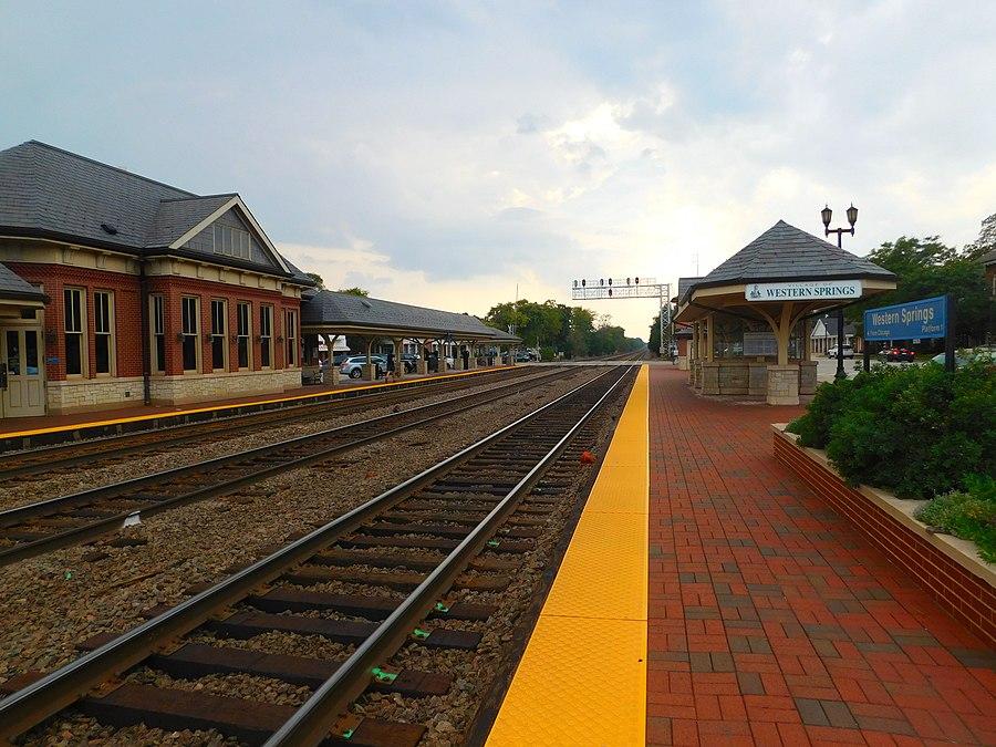 Western Springs station