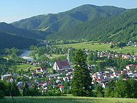The Pieniny in the Carpathians