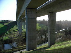 West-Link bridges from underneath