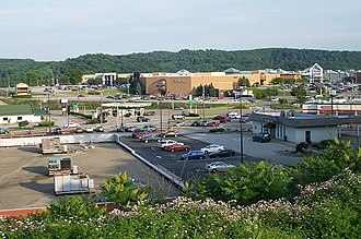 Hempfield Township, Westmoreland County, Pennsylvania - Hempfield Township, with U.S. Route 30 and Westmoreland Mall in view