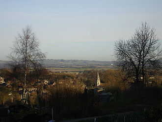Wheatley, Oxfordshire - Wheatley viewed from Windmill Lane