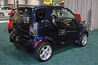 Wheego Whip All Electric City Car Exhibited At The 2010 Washington Auto Show