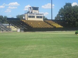Wheeler, Texas - Image: Wheeler, TX, Stadium IMG 6133