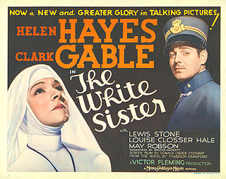 <i>The White Sister</i> (1933 film) 1933 film by Victor Fleming
