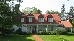 Home of Whitelaw Reid, northwest of Cedarville
