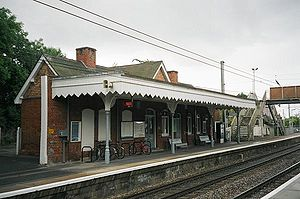 Whittlesford Parkway railway station - The station building