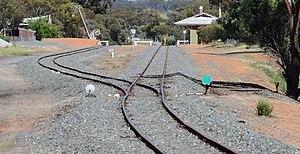 Arc Infrastructure - Wickepin yard in October 2013
