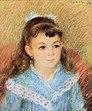 Wien-Innenstadt, Albertina, Pierre-Auguste Renoir, Porträt eines jungen Mädchens.JPG