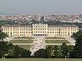 Wien from Palace and Gardens of Schönbrunn - panoramio (1).jpg