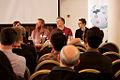 WikiConference UK 2012 - GLAM panel 13.jpg