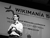 Wikimanía 2015 - Day 4 - Luis von Ahn conference - LMM (33).jpg