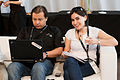 Wikimania 2009 - Patricia and Krosto.jpg