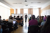 Wikimedia Hackathon Vienna 2017-05-19 Mentoring Program Introduction 008.jpg