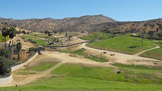 San Diego Zoo Safari Park - The main Africa Enclosure, where many of the herbivores are given free-range