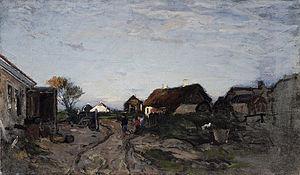 Wilhelm von Gegerfelt - Wilhelm von Gegerfelt: Fra Skagen Østerby (1874)