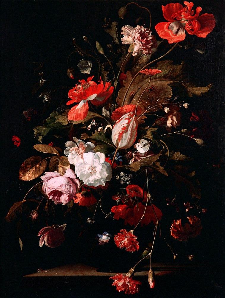 Willem van Aelst - Bloementuil