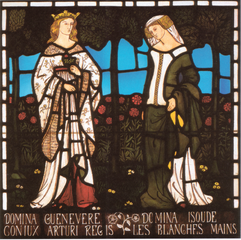 William Morris Queen Guenevere and Isoude Les Blanches Mains.png