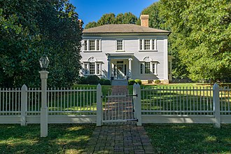 Lexington, North Carolina - Lexington's oldest home, The Homestead, listed on the National Register of Historic Places.